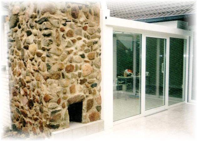 natursteinverlegung aussen kamin grill mauern harz fliesenleger, Hause ideen